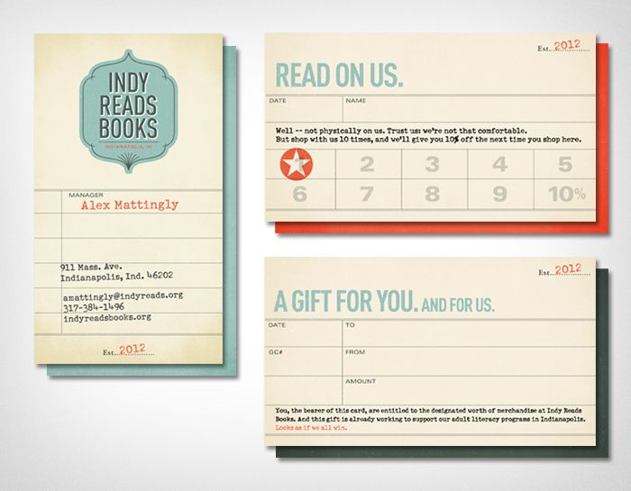107 best cards images on pinterest graphics business cards and indy reads books business card design inspiration card nerd reheart Gallery