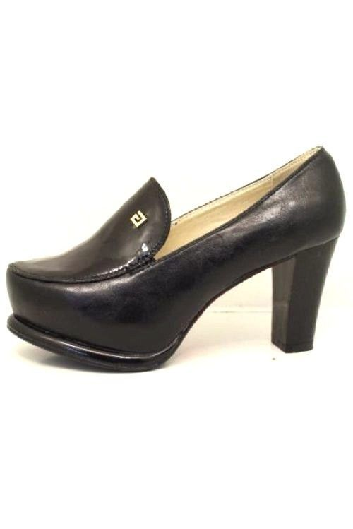 NEW WOMENS LADIES BLACK PLATFORM  FASHION HIGH HEELS   SHOES  SIZE 3-7.5 UK
