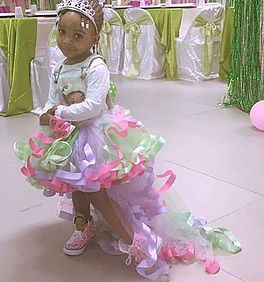 shopkrazykouture princess Tiana overall tutu