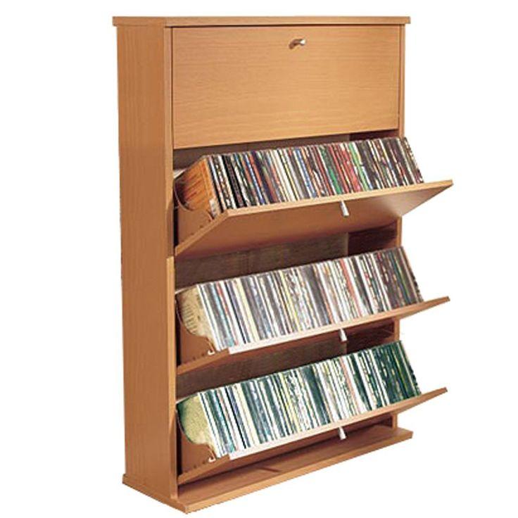 M s de 25 ideas incre bles sobre almacenamiento pel culas - Muebles organizadores ikea ...
