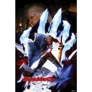 (24x36) Devil May Cry 4 (Nero, Dante, Hand) Video Game Poster Print http://www.amazon.com/dp/B001D4AK20/?tag=wwwmoynulinfo-20 B001D4AK20