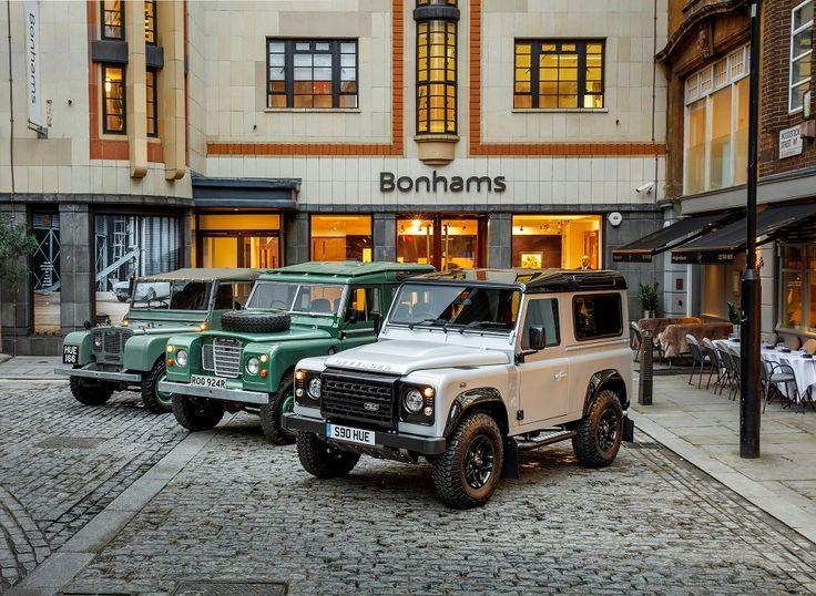 Land Rover Defender de número 2 milhões será leiloado em Londres