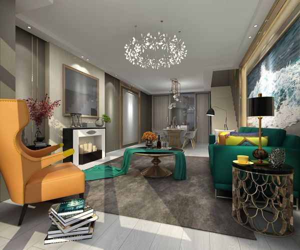 Effective Use Of Lighting Equipment Bedroom Modern Style Living Room Contemporary Living Room Design Modern Spaces