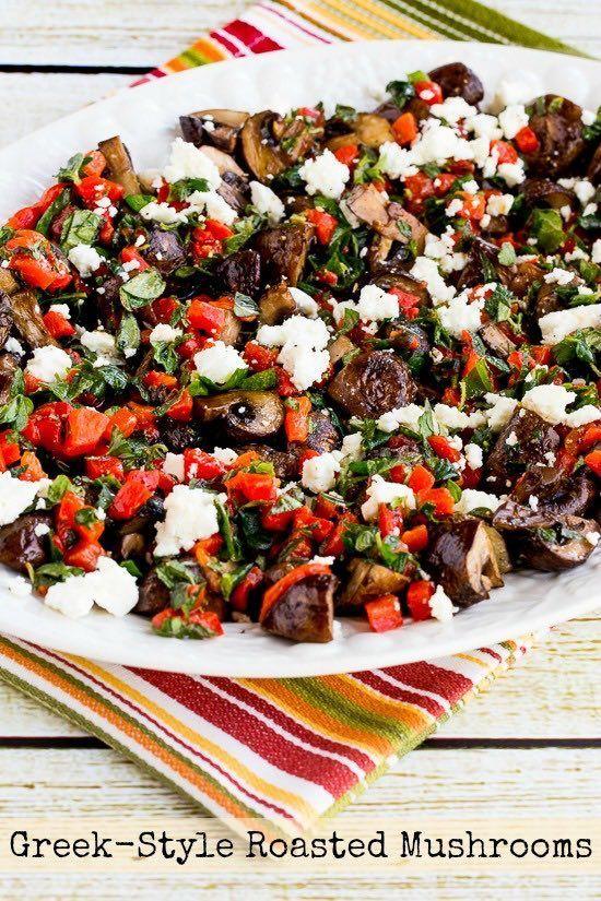 ... pepper herbs style roasted kitchen bloglovin roasted mushrooms greek