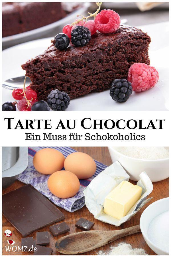 Tarte au Chocolat Rezept – Food Blogger Inspirations DACH