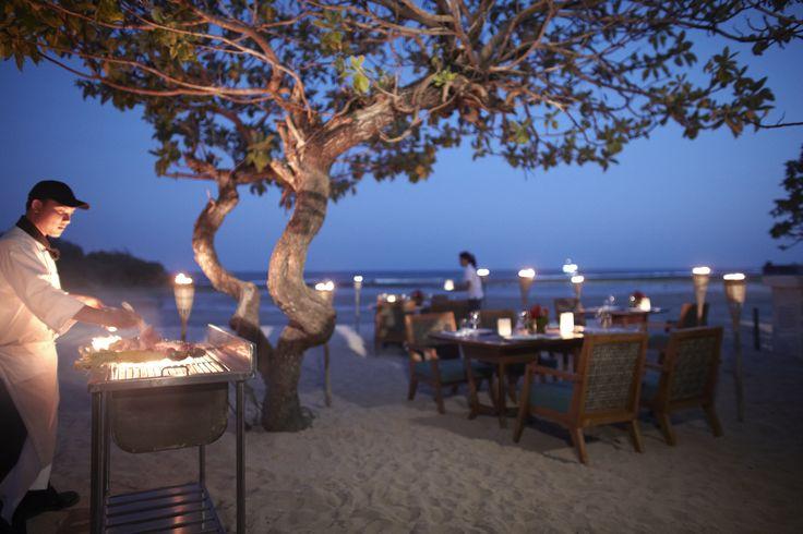 Dinner at Beach Club Courtyard by Marriott Bali Nusa Dua