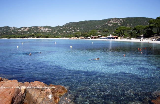 Palombaggia Corsica  http://matrioskadventures.com/2012/07/12/la-spiaggia-di-palombaggia-corsica-in-immagini/