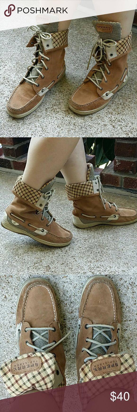 Sperry Top-Sider boots. Sperry Top-Sider boots. Good condition,  suede Sperry Top-Sider Shoes Ankle Boots & Booties