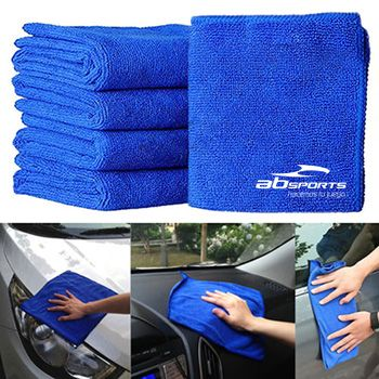 Soft Absorbent Microfiber Car Cleaning Towels