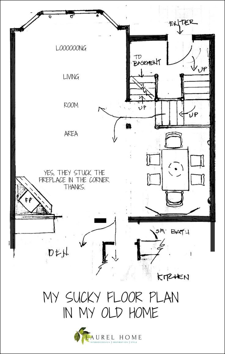 Our House Floor Plan Is Impossible To Furnish Living Room Floor Plans Floor Plans House Floor Plans