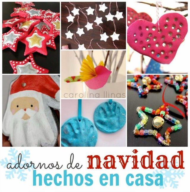 M s de 1000 ideas sobre regalos de navidad hechos en casa - Adornos de navidad hechos a mano por ninos ...