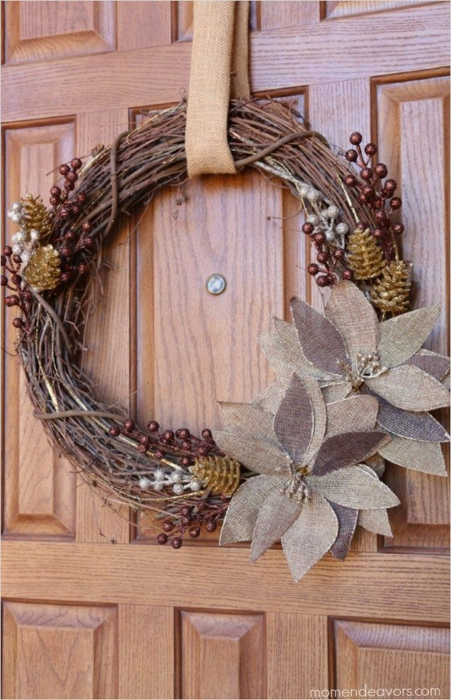 Rustic Christmas Wreath Diy.Pin On Home And Craft Ideas