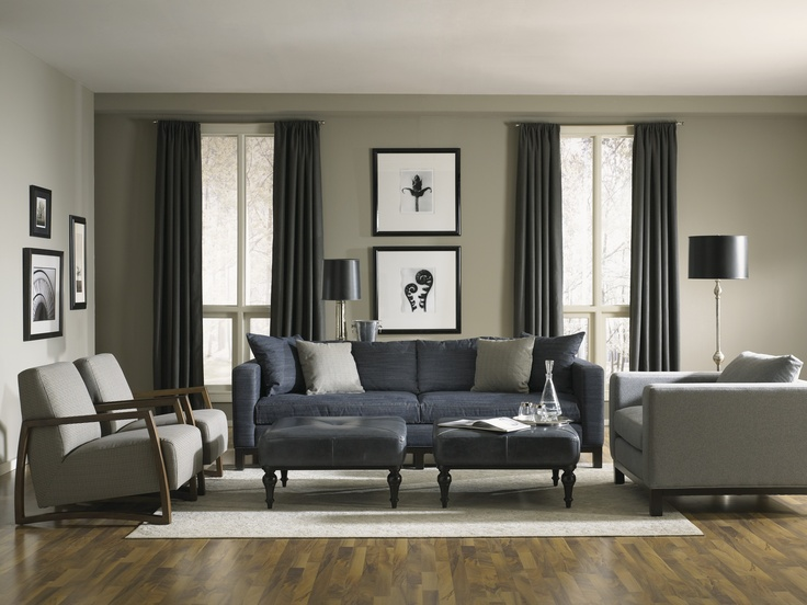 Sofa Pillows Credenza in French Linen Chalk Paint with a black glaze