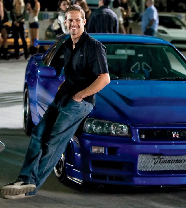 Wow! Paul Walker's 'Fast And Furious' Nissan Skyline, wish I had this one