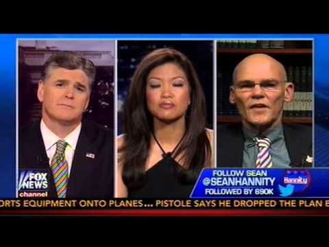 6/5/13 - ▶ Michelle Malkin Obliterates James Carville - YouTube