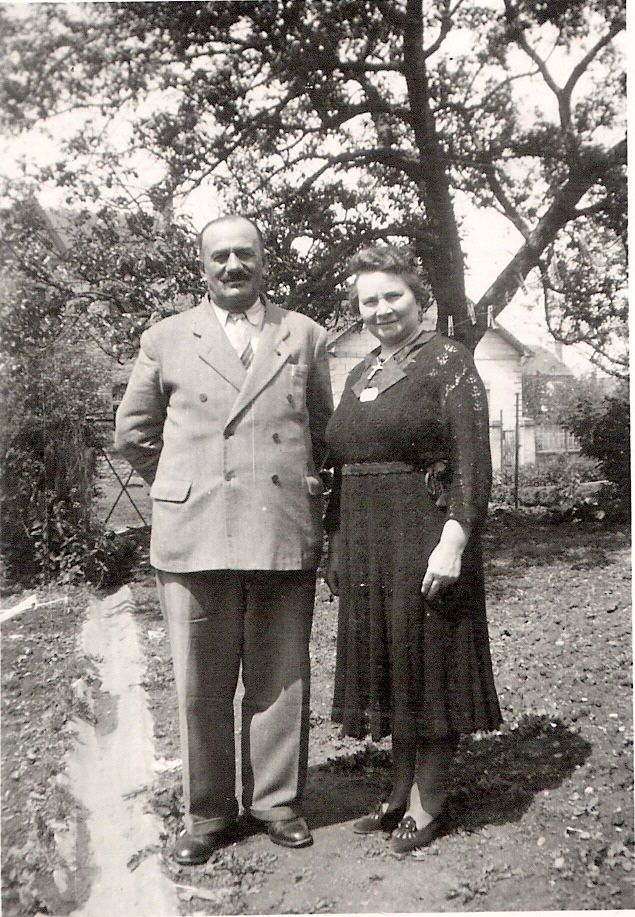 My grandparents Joseph and Marie-Eugénie WILLIEME-PIGNOLET in the fifties I guess