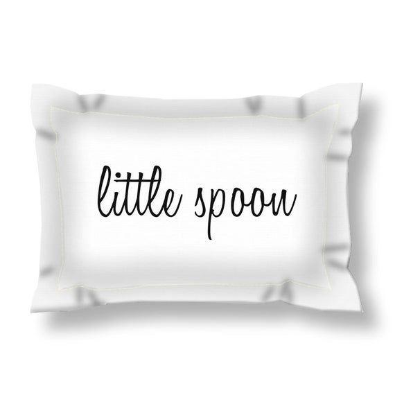 Little Spoon Big Spoon Pillow Shams