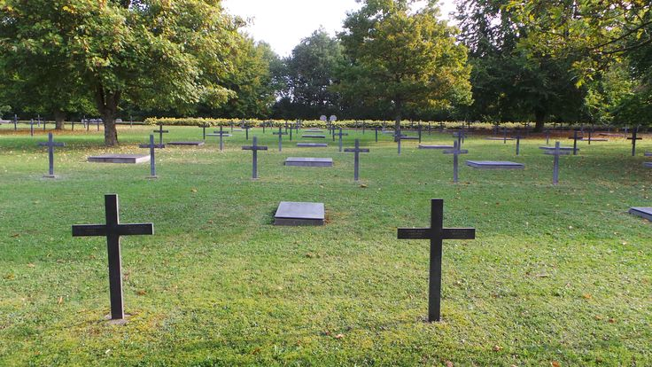 Consenvoye German War Cemetery is located south of the village of Consenvoye, on the road to Verdun. It holds 11,148 German war graves from World War I
