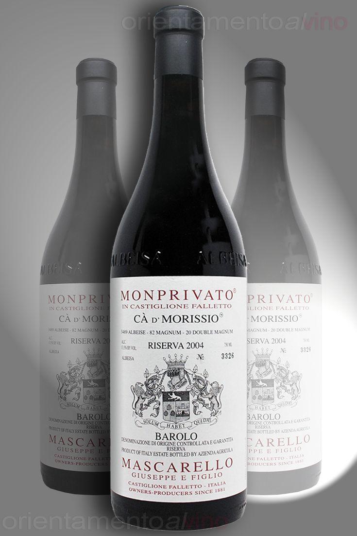 secondo classificato edizione 2012 dei Best Italian Wine Awards i 50 migliori #vini d'Italia Mascarello Giuseppe e Figlio – #Barolo #Riserva Monprivato Cà d' Morissio 2004