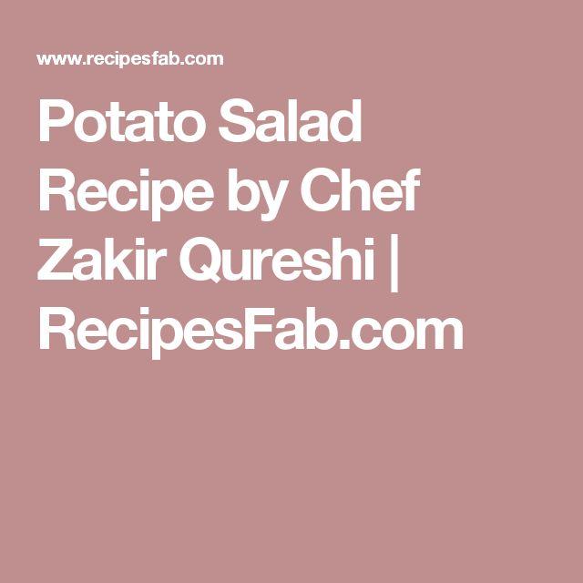 Potato Salad Recipe by Chef Zakir Qureshi | RecipesFab.com