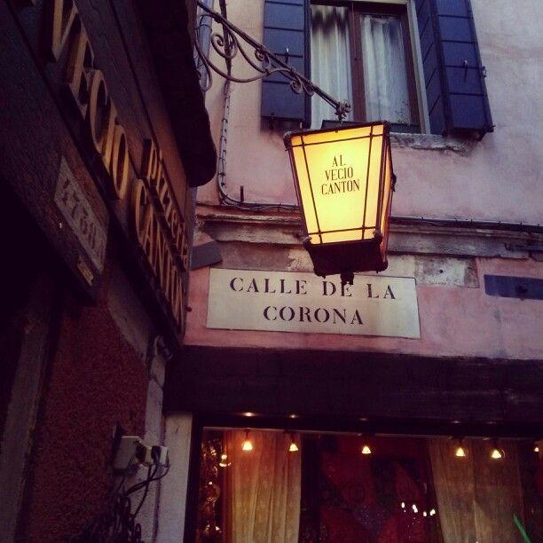 #venice #venezia #Italy #light #street .
