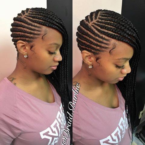 scalp braids
