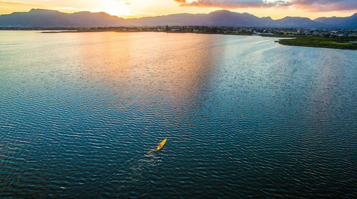 """Paddle to the light"" by Dishen Govender  Location: Cape Town"