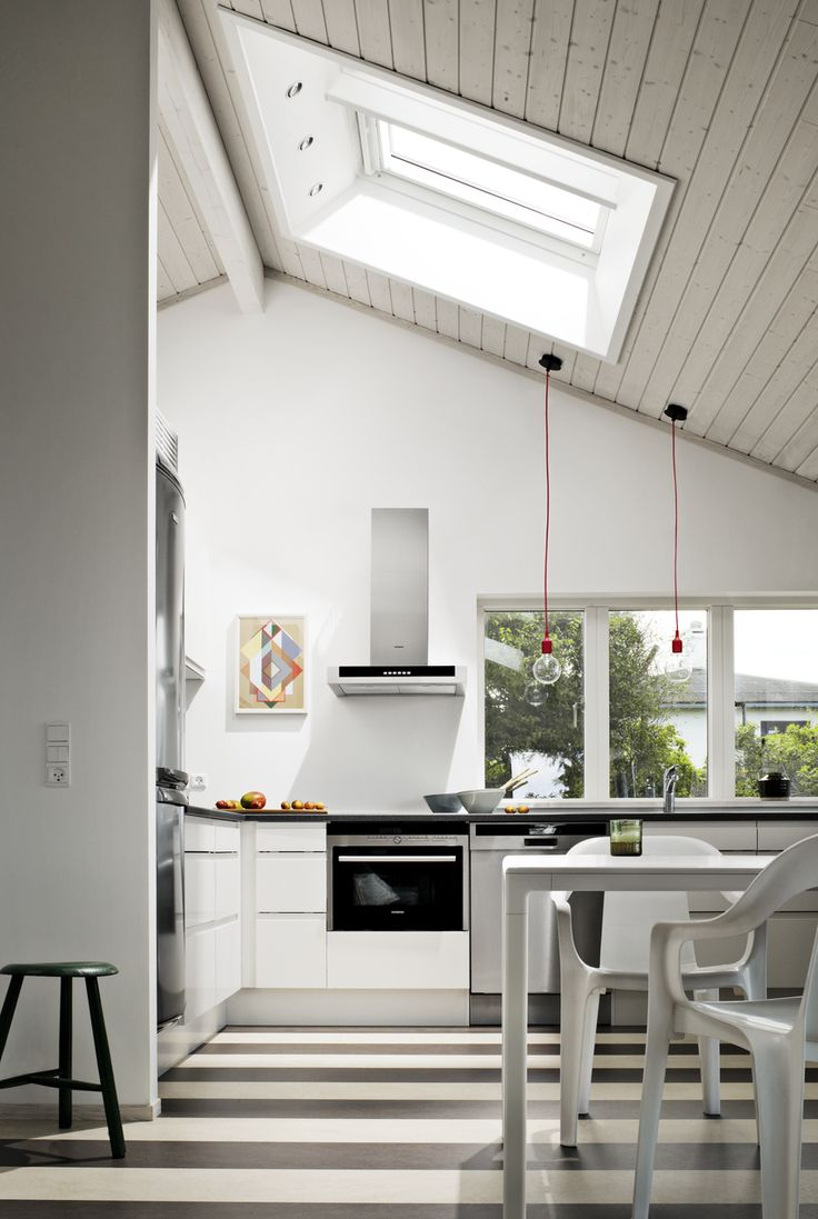 #cocina #kitchen #ventana #window #velux #veluxchile #luznatural #ventilacion