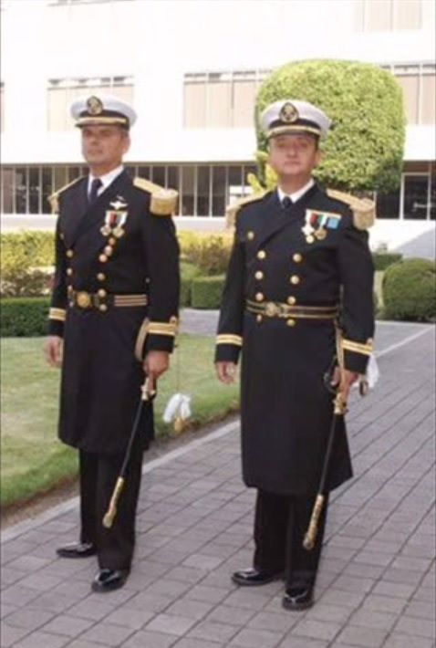 mexican navy officers and admirals ceremonial dress