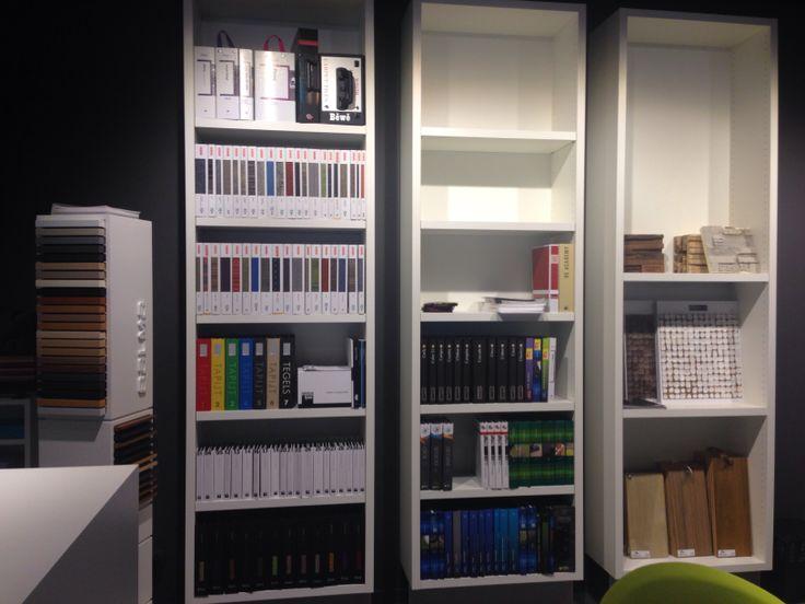 Een deel van onze materialenbibliotheek