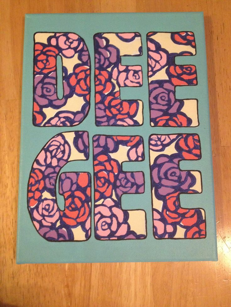 Delta Gamma Canvas!