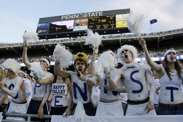 PENN STATE – FANS AND ALUMNI – Penn State Football: Ranking the Hardest Games of the 2014 Schedule