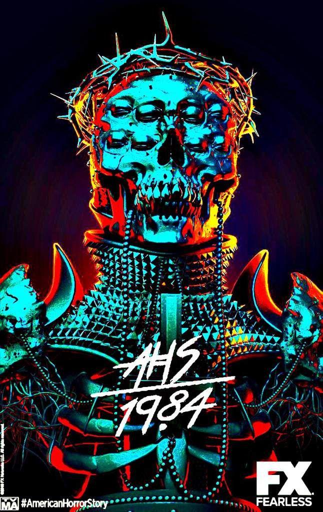 Ahs 1984 Poster Google Search Key Art In 2019 Horror