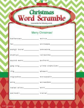 ... Christmas Words, Christmas Games, Printable Games, Christmas Printable