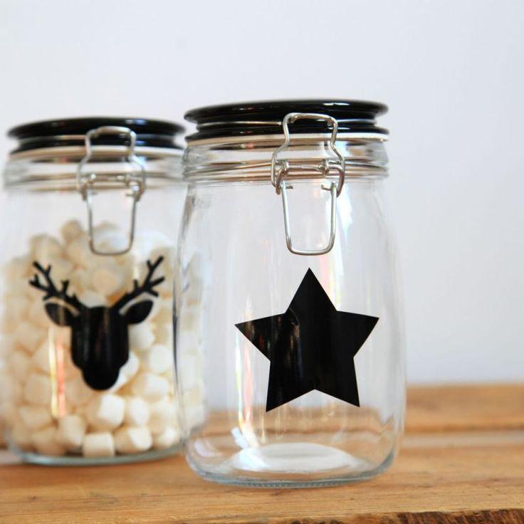 les 25 meilleures images propos de bocaux en verre sur pinterest pots belle et bocaux. Black Bedroom Furniture Sets. Home Design Ideas