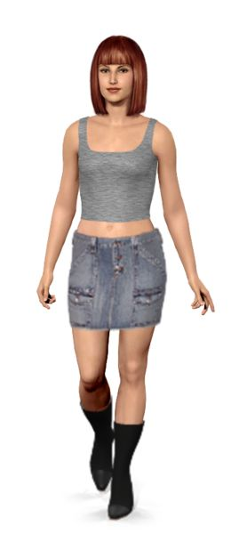 Amazing way to shop. I tried on these denim picks by Debbie on my virtual model, then I shopped for them on eBay.