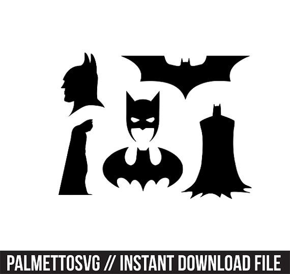 Batman Svg Cricut Cut Files Silhouette Cut Files This