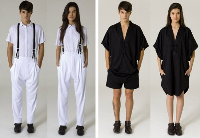Moda sem gênero   Audaces