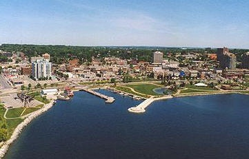 Barrie is just north of us. We have our home in the middle of a large golf resort. We are close to the city of Toronto to attend concerts etc. And close enough to Muskoka/Parry Sound area where we spend a lot of the summer.
