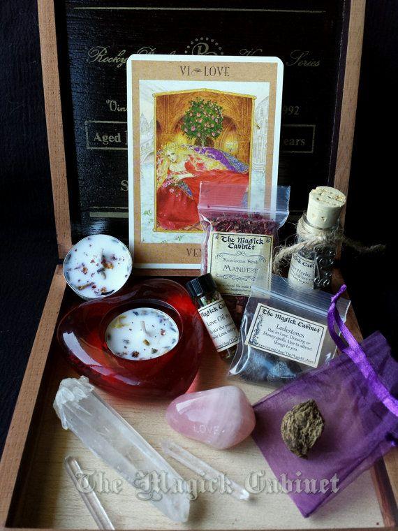 Manifest Love Kit Witches Starter Kit Beginner by