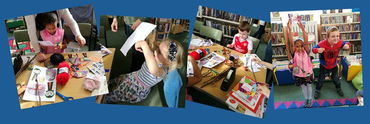 The first Craft Club at Olney Library was a great success. We hope to see you at the next one on Saturday, 11 November 10.30-11.30am. www.milton-keynes.gov.uk/libraryevents