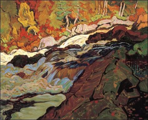 Batchawana Rapids, Algoma by J.E.H. MacDonald