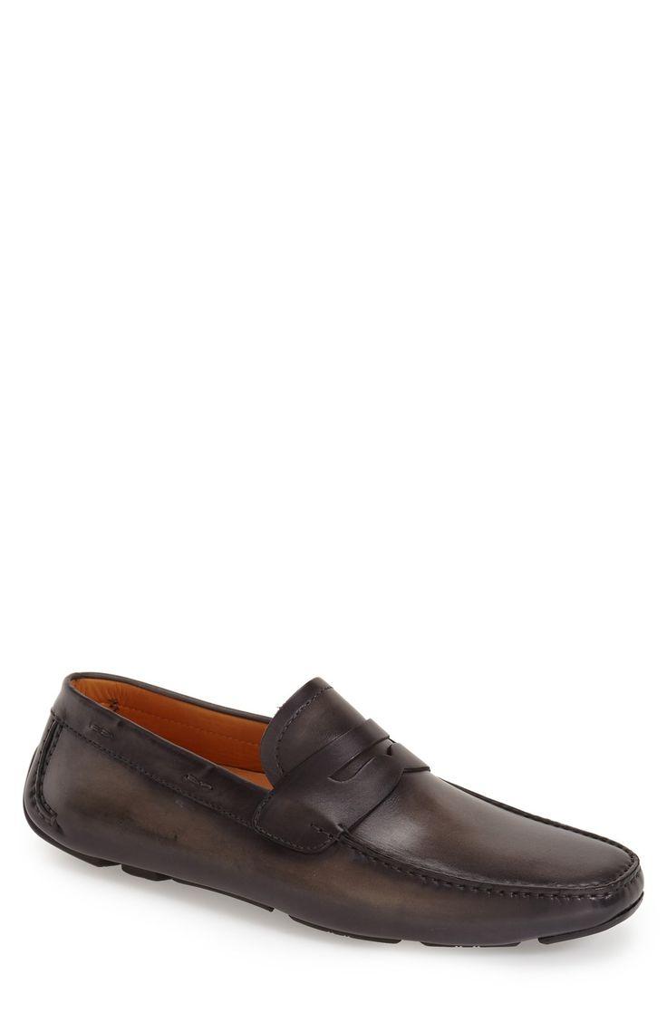 Magnanni 'Dylan' Leather Driving Shoe (Men) | Nordstrom