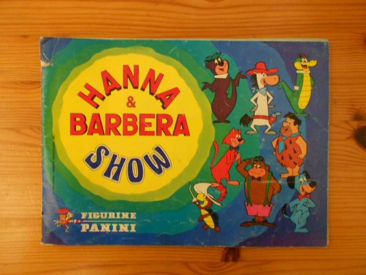 Album Hanna & Barbera, Panini, 1978 (incompleto di 1 figurina)