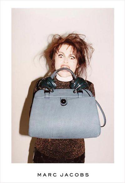 Helena Bonham Carter for Marc Jacobs shot by Jeurgen Teller