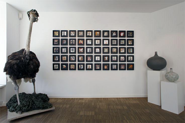 Exhibition view: Morten Ingemann  Ruth Lorentzen