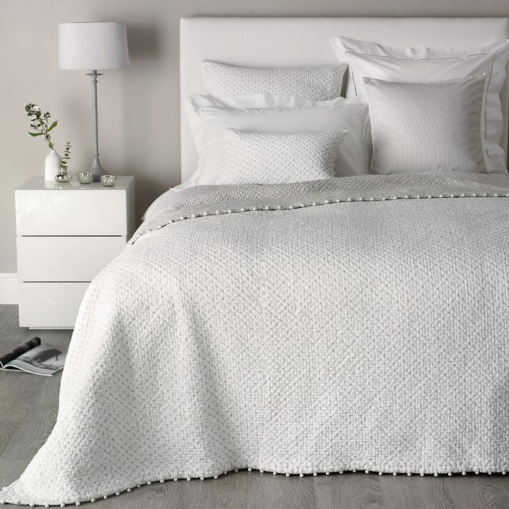 I need this in my life. Brittany Collection | Bedspreads and Cushions | Bedroom | The White Company US