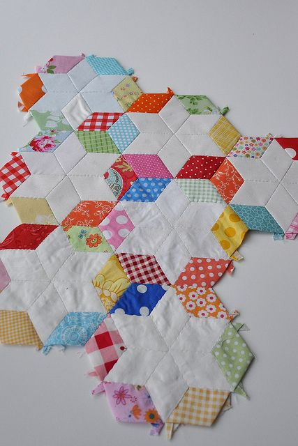 38 Best Quilt 6 Point Star Images On Pinterest English