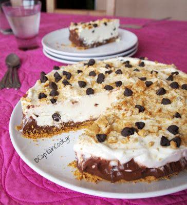 Captain Cook: #Τούρτα Παγωτό - Μπισκότο