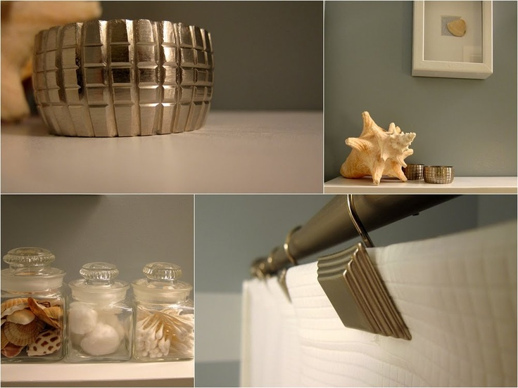 Simple beachy bathroom accessories for Bathroom inspo